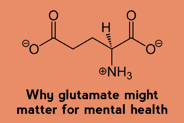 Why glutamate for mental health?