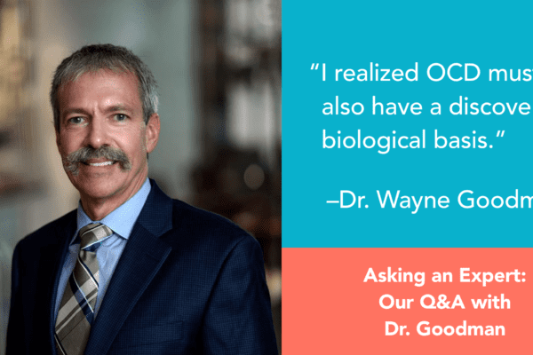 Question and Answer Session with Dr Wayne Goodman