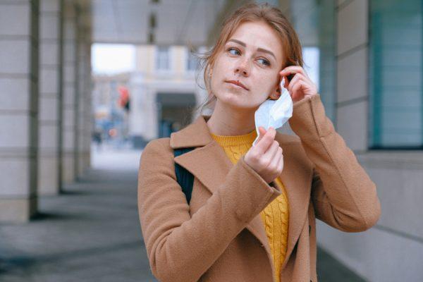 Women Wearing Mask During Coronavirus