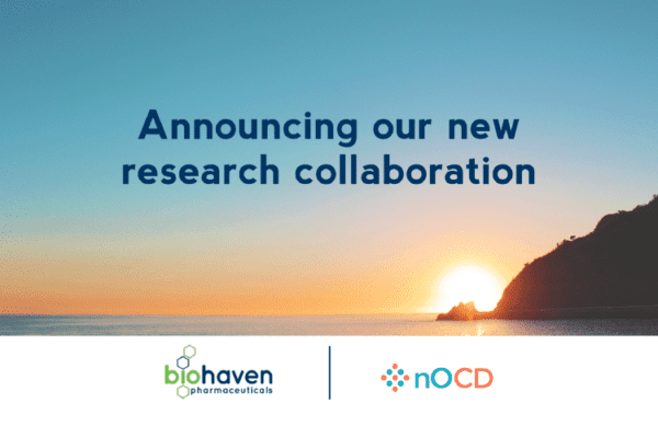 Research collaboration with Biohaven