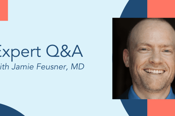 Question and answer session with Jamie Feusner, MD